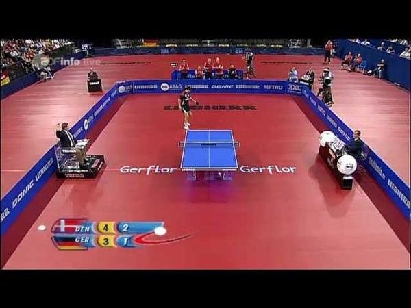 2009 ETTC MT Final DEN GER m4 MAZE Michael BOLL Timo Full Match