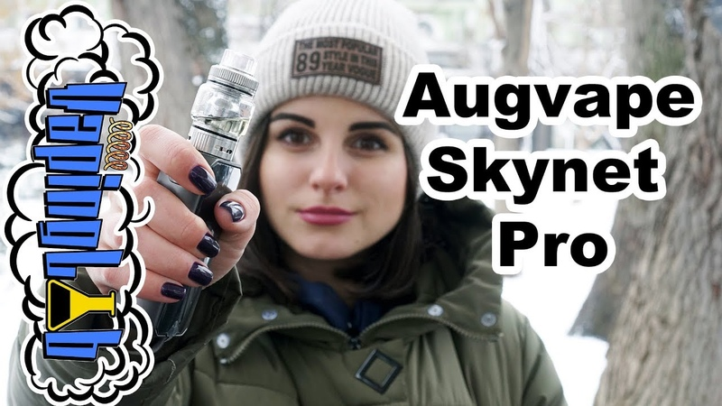 Augvape Skynet Pro Sub-ohm Tank. Клирик для навала