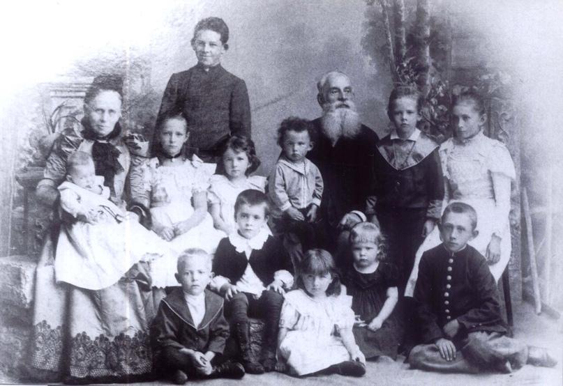 Семья аптекаря Шорнинга К.И.