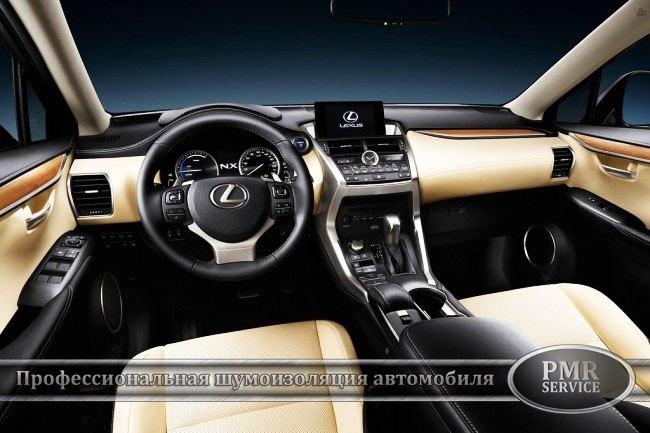 Комплексная шумоизоляция Lexus NX 200, изображение №19
