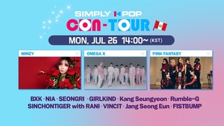 [LIVE] SIMPLY K-POP CON-TOUR (📍Peru)   MINZY, Pink Fantasy, BXK, OMEGA X, GIRLKIND