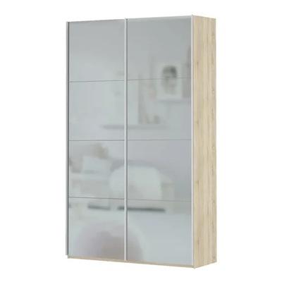 Прайм 2-х дверный (фасад зеркало) ш 1600