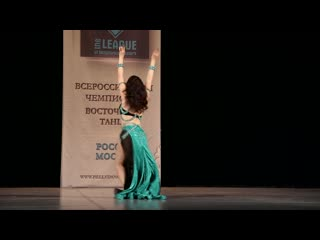 ЛУНЁВА МАРИНА. Классика. Профессионалы. XVII Всероссийский Bellydance  чемпионат, Москва 2020