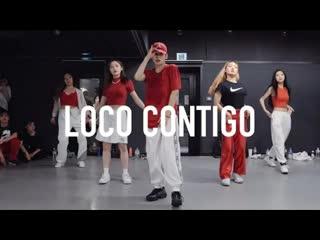 1million dance studio dj snake, j. balvin, tyga loco contigo ⁄ yumeki choreography