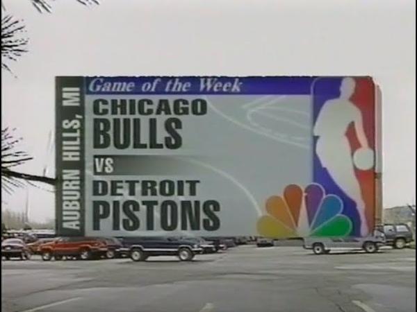 Pistons x Bulls 13 04 97
