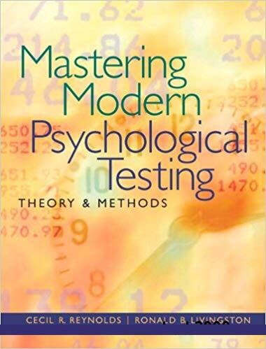 Mastering Modern Psychological Testing Pearson New International Edition Theory & Methods