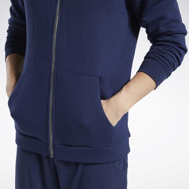 Худи Training Essentials Fleece Zip Up image 5
