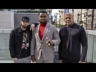 Прямая трансляция открытия звезды 50 Cent на Аллее славы в Голливуде