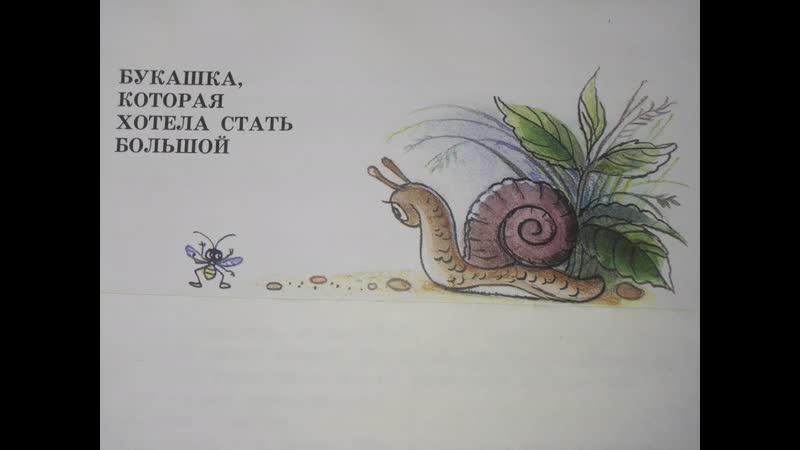 М. Пляцковский. Букашка, которая хотела стать большой