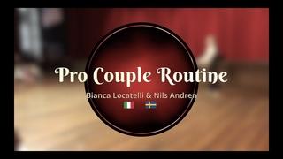 Savoy Cup 2019 - Pro Couple Routine - Bianca Locatelli & Nils Andren
