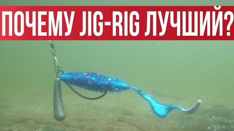 JIG RIG Лучший монтаж для осени БЕЗУСЛОВНО Подробно разбираем оснастку Рыбалка с Fishingsib