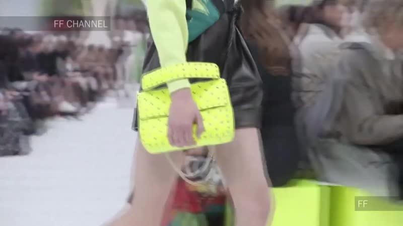 София Плетнева модель агентства Николай Терюхин на Paris Fashion Week