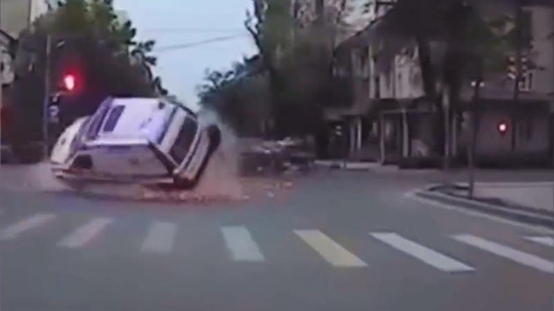 Подборка ДТП и аварий умный водитель 61
