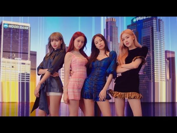 BLACKPINK @ Woori Bank CF teaser