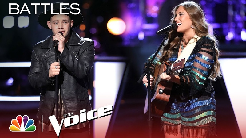Kameron Marlowe and Kayley Hill Cover a Hootie The Blowfish Hit - The Voice 2018 Battles