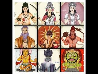 Открытый урок. 1 Введение в тантрический подход к ведической астрологии. Обзор Наваграха (9 сил).
