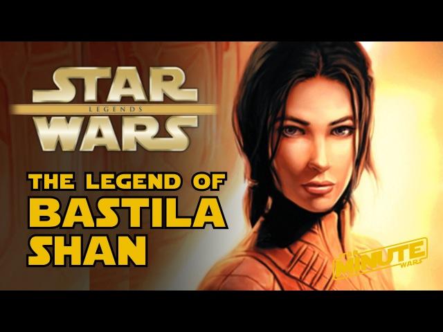 The Legend of Bastila Shan Star Wars Minute