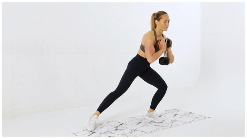 Яростная Табата тренировка ног и ягодиц Week 12 Day 2 Fierce TABATA Plus LEGS BOOTY Workout