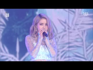 2019 SBS Gayo Daejeon MAMAMOO Solar (Let It Go, Into The Unknown)