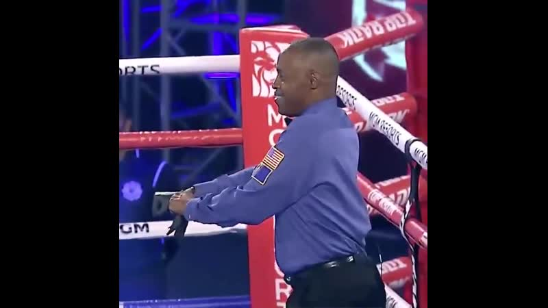 Кенни Бейлис самый крутой рефери в боксе
