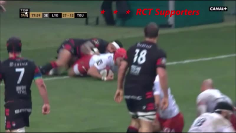 LOU Rugby vs Toulon RCT 27 12