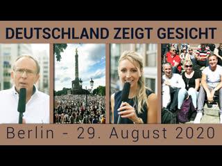 Deutschland zeigt Gesicht | Berlin - 29. August 2020 [Doku]