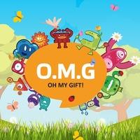 Логотип OMGift - Магазин нестандартных подарков