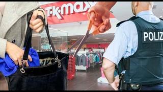 История кражи с ножницами в магазине. Когда грозит реальный срок в Германии