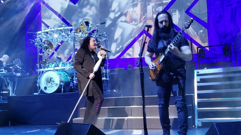 Dream Theater LaBrie Intro into Paralyzed Milwaukee 3-31-19 1st Row 1080 60FPS S9
