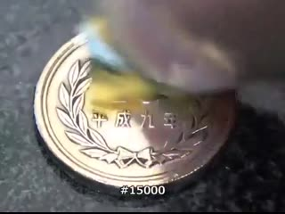 Превращение монеты в зеркало