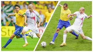 Zinedine Zidane's Legendary Performance vs Brazil (World Cup 2006)   HD 1080i