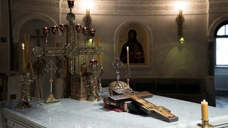 Вечернее богослужение. Акафист Пресвятой Богородице. Священномученика Горазда, епископа Богемского