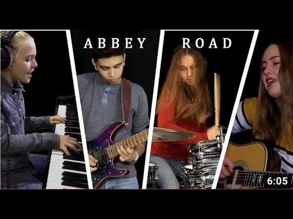 Beatles Abbey Road Medley - Cover by Emily Linge, Sina, Chiara Kilchling Manou Rao