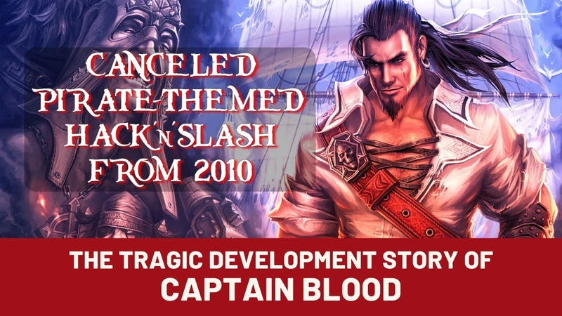 The tragic development story of Captain Blood a canceled pirate themed hack'n'slash from 2010