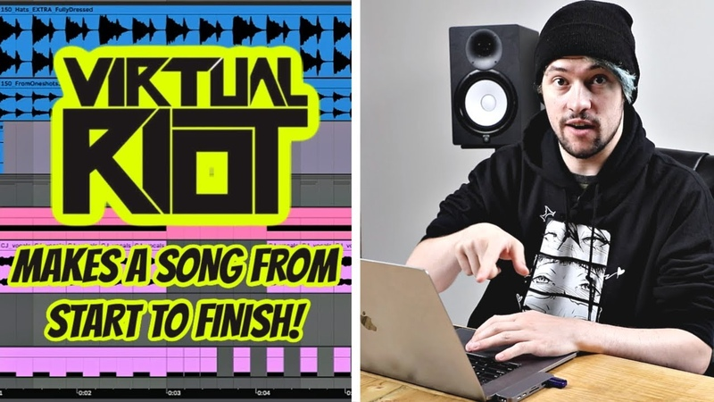 Virtual Riot making a song from start to finish!