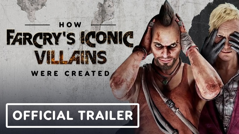 How Far Cry's Iconic Villains Were Created Official Trailer IGN Inside Stories