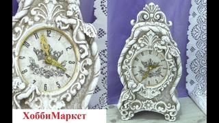 Старинные каминные часы своими руками. ХоббиМаркет