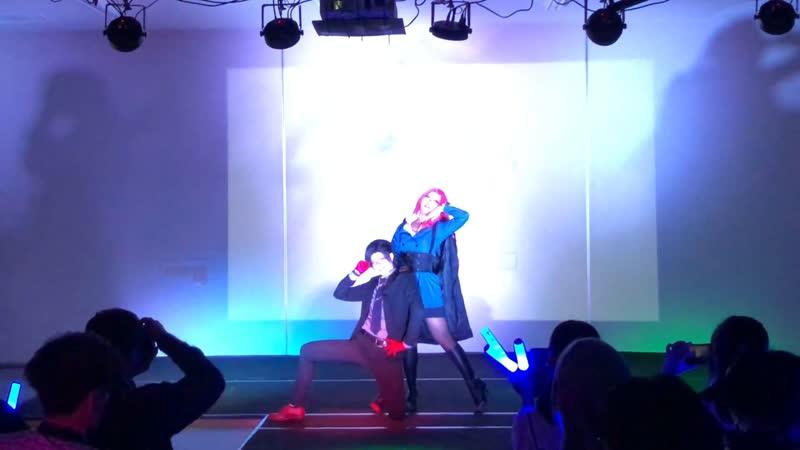 【ヒプマイ 無花果&銃兎】クレイジー・ビート【コスプレで踊ってみた】on stage 1080 x 1920 sm35702224
