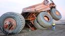 10 World Extreme Dangerous Idiots Dump Truck Operator Skill - Biggest Heavy Equipment Machines Fail