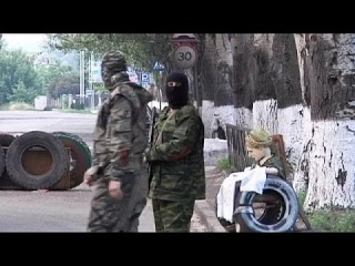 Над Славянском сбит вертолет с украинским генералом на борту