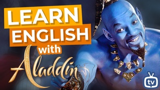"""Learn English With Movies   """"Aladdin"""" with Will Smith"""