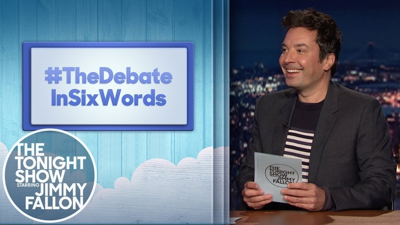 Hashtags TheDebateInSixWords