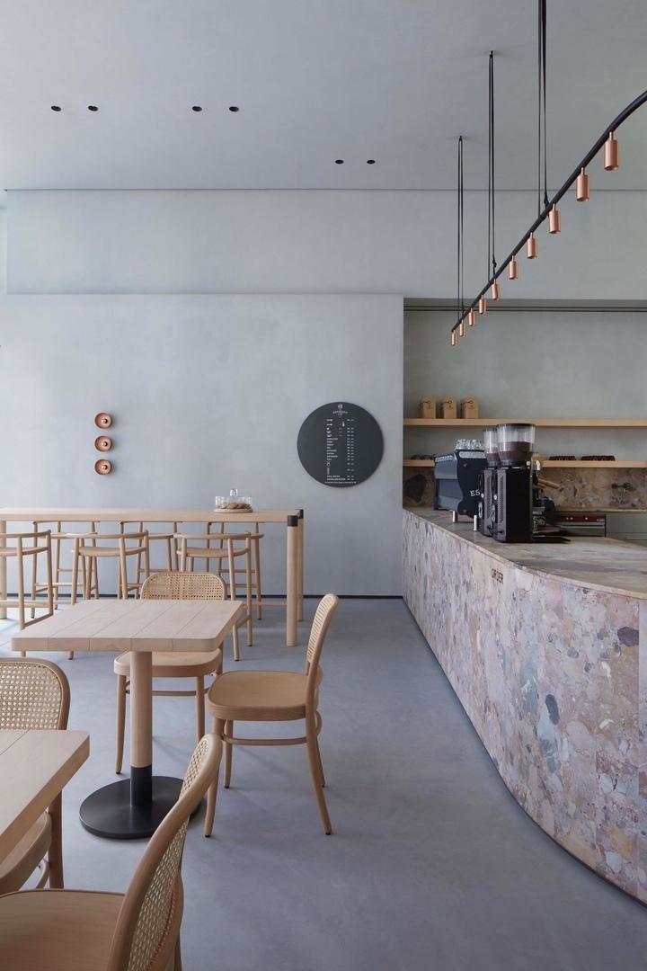 Бутик-кафе The Espresso Lab в Дубае