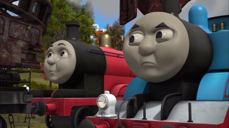 Томас раскусил трюк Джеймса ⭐Томас и его друзья ⭐Весь эпизод ⭐ Мультик про Паровозика Томаса