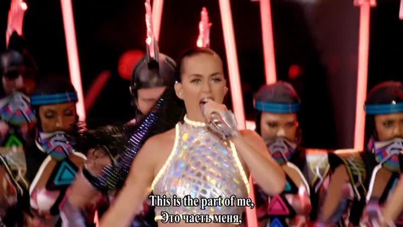Katy Perry Part of Me live субтитры