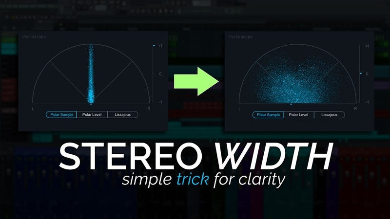Stereo Width Production Trick For Clarity and Space