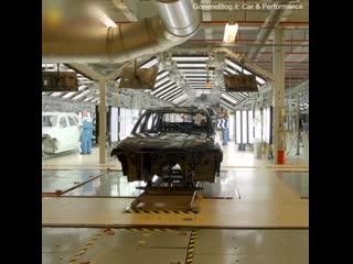 BMW X7 производственная линия bmw x7