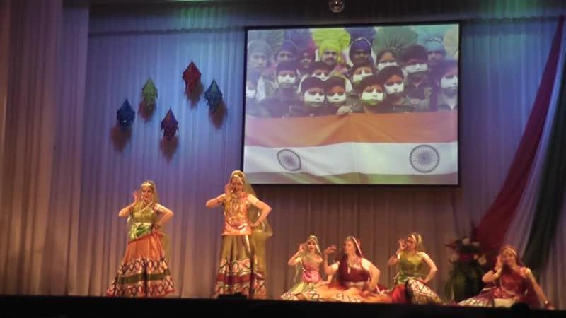 Мера асси кали ка ленга (народный танец штата Раджастхан). День Республики Индии. 27.01.2019