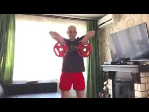 ОФП с элементами атлетической гимнастики Видео урок от инструктора ЦФКиС ВАО Александра Коваленко