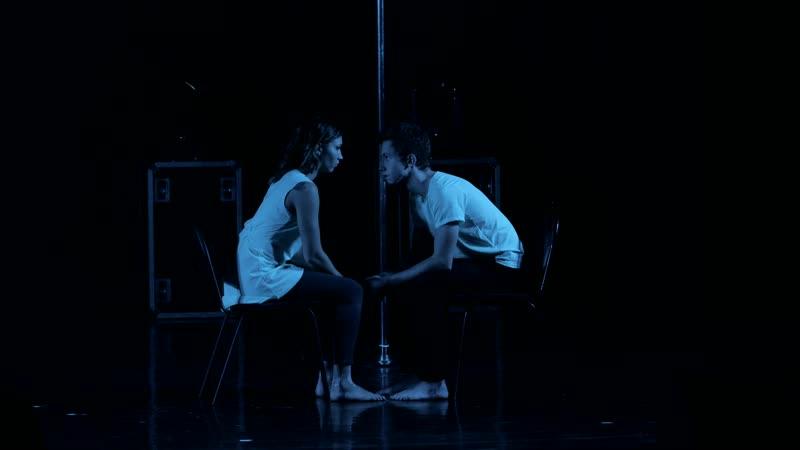 ЗАДВЕРЬЕ отчетный концерт 15 12 18 Басалаева Дарья и Петров Дмитрий